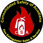 Consolidated Safety of Acadiana / Fire Extinguisher Sales & Service Logo - Entry #140