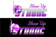 SHOW UP STRONG  Logo - Entry #94