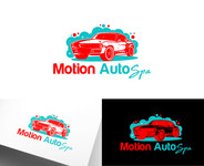 Motion AutoSpa Logo - Entry #112