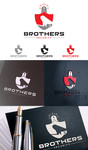 Brothers Security Logo - Entry #89