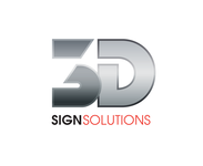 3D Sign Solutions Logo - Entry #187