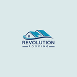 Revolution Roofing Logo - Entry #477