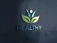 Healthy Livin Logo - Entry #570