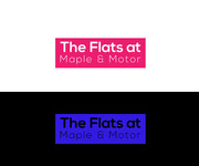 The Flats at Maple & Motor Logo - Entry #90