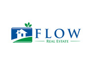Flow Real Estate Logo - Entry #66