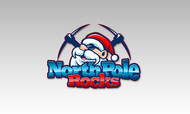 North Pole Rocks Logo - Entry #1