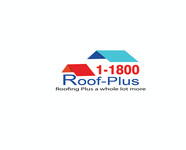 1-800-roof-plus  , i am also going to be using 1800roofplus.com for materials Logo - Entry #10