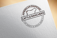 American Diamond Cattle Ranchers Logo - Entry #87
