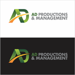 Corporate Logo Design 'AD Productions & Management' - Entry #142