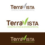 TerraVista Construction & Environmental Logo - Entry #275