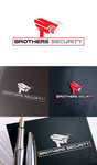 Brothers Security Logo - Entry #91
