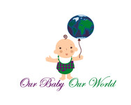 Logo for our Baby product store - Our Baby Our World - Entry #25