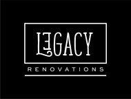 LEGACY RENOVATIONS Logo - Entry #201