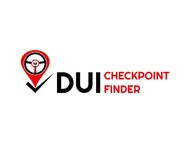 DUI Checkpoint Finder Logo - Entry #34