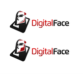 Digital Face Logo - Entry #54