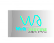 Logo for WebAlarms - Alert services on the web - Entry #106
