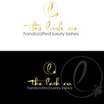 the lash co. Logo - Entry #55