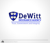 """DeWitt Insurance Agency"" or just ""DeWitt"" Logo - Entry #94"