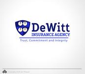 """""""DeWitt Insurance Agency"""" or just """"DeWitt"""" Logo - Entry #94"""