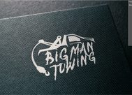 Big Man Towing Logo - Entry #36