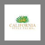 California Style Palms Logo - Entry #50