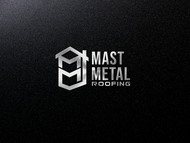 Mast Metal Roofing Logo - Entry #166