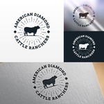 American Diamond Cattle Ranchers Logo - Entry #8