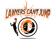 "charity basketball event logo (name with logo is ""lawyers can't jump"") - Entry #26"