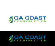 CA Coast Construction Logo - Entry #253