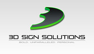 3D Sign Solutions Logo - Entry #139