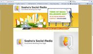 Sasha's Social Media Logo - Entry #154