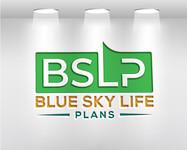 Blue Sky Life Plans Logo - Entry #263
