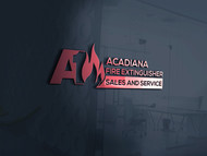 Acadiana Fire Extinguisher Sales and Service Logo - Entry #322