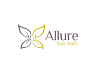 Allure Spa Nails Logo - Entry #84