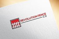 Revolution Fence Co. Logo - Entry #120