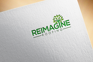 Reimagine Roofing Logo - Entry #84