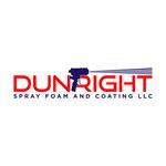 Dun Right Spray Foam and Coating LLC Logo - Entry #73
