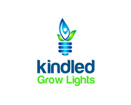 Kind LED Grow Lights Logo - Entry #7