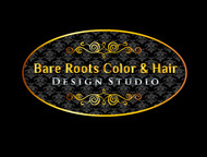 Bare Roots Color & Hair Design Studio Logo - Entry #32