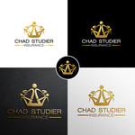 Chad Studier Insurance Logo - Entry #241