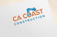 CA Coast Construction Logo - Entry #126