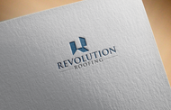 Revolution Roofing Logo - Entry #48