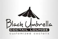 Black umbrella coffee & cocktail lounge Logo - Entry #145