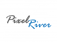 Pixel River Logo - Online Marketing Agency - Entry #165
