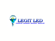 Legit LED or Legit Lighting Logo - Entry #64