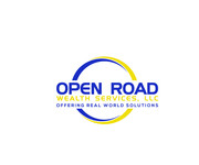 "Open Road Wealth Services, LLC  (The ""LLC"" can be dropped for design purposes.) Logo - Entry #115"