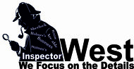 Inspector West Logo - Entry #159