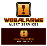 Logo for WebAlarms - Alert services on the web - Entry #120
