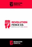 Revolution Fence Co. Logo - Entry #75