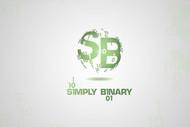 Simply Binary Logo - Entry #214